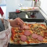 6.Pizza belegen