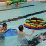 Gruppenschwimmen
