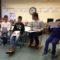 Die Klasse G4-5 liest uns die Geschichte vor